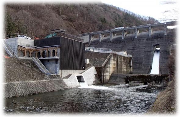 横川蛇石発電所
