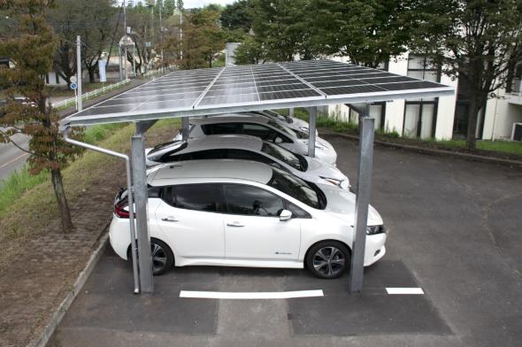 自家消費型ソーラーカーポート