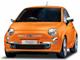 イタリアンオレンジのようなFIAT 500