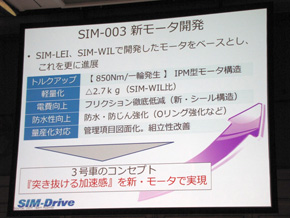 シムドライブのEV「SIM-CEL」、「突き抜ける加速感」でクルマの魅力を追求 (3/4)