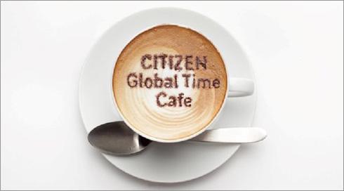 シチズン グローバル タイム カフェ 2013
