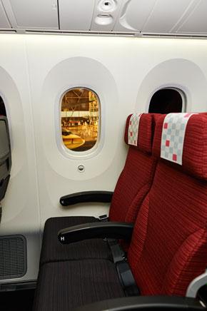 さらにゆったり快適に〜「JAL SKY SUITE 787」就航開始
