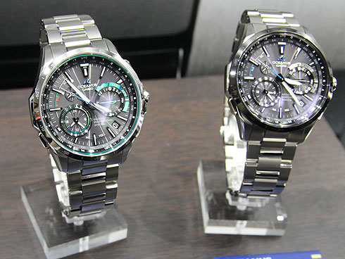 17a6f6f664 左が新色のOCW-G1000-1A2JF。右側は元になったモデル、OCW-G1000