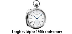 Longines Lepine 180th anniversary