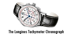 The Longines Tachymeter Chronograph