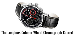 The Longines Column-Wheel Chronograph Record