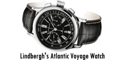 Lindbergh's Atlantic Voyage Watch
