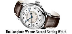 The Longines Weems Second-Setting Watch