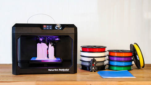 MakerBot第5世代3Dプリンタに対応した新設計のプリントヘッド