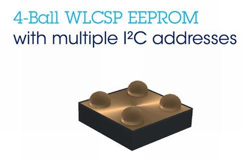 4ボールWLCSP互換EEPROM「M24」ファミリー