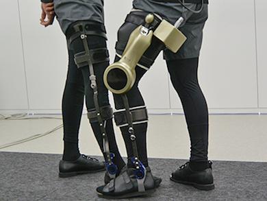 モジュール型wearable歩行支援機器