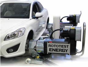 Rototestのハブ結合式シャシーダイナモメーターシステム「ROTOTEST Energy」