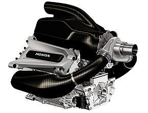 ホンダのF1レースカー向けパワーユニット
