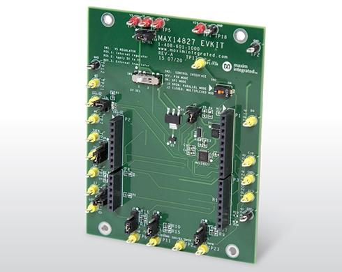 IO-Linkデュアルチャネルトランシーバー「MAX14827」