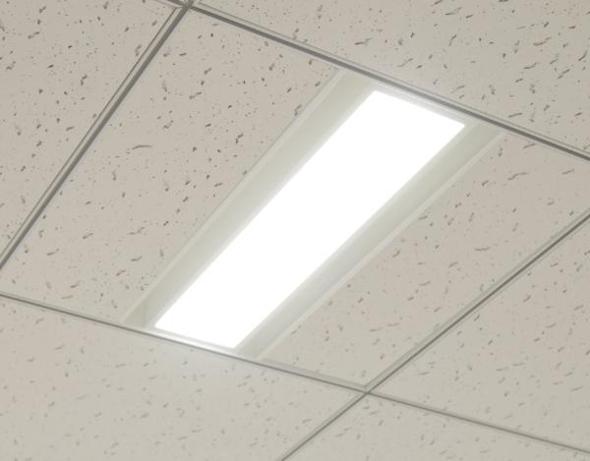 アイリスオーヤマのグリッド天井用LED照明