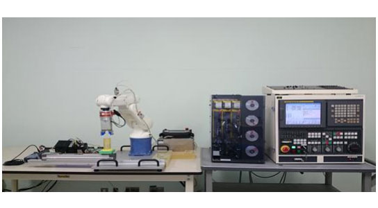 IPAと日本ロボット工業会ORiN協議会、機械振興協会が共同で行った実証実験(出典:IPA)