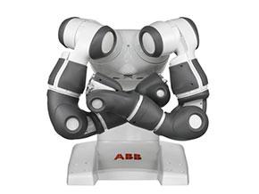 スイスABB製の産業用双腕ロボット「YuMi」