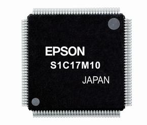 16ビットフラッシュメモリ内蔵マイコン「S1C17M10」