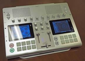 JDSoundのポータブルDJシステム「GO-DJ Plus」の試作機