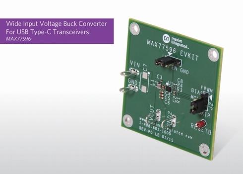 高入力電圧バックコンバーター「MAX77596」