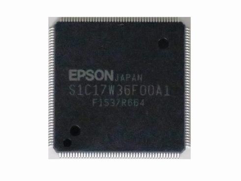 16ビットフラッシュマイコン「S1C17W36」