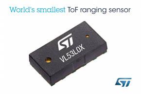 FlightSense技術を採用した第2世代距離センサー「VL53L0X」