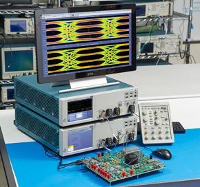 「DPO70000SX」シリーズオシロスコープ用シリアル規格テストソリューション