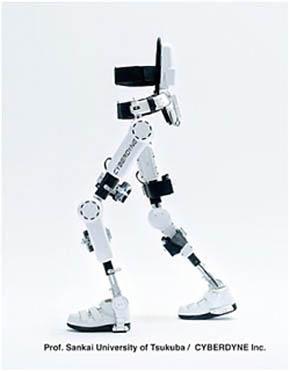 サイバーダインの装着型ロボット「HAL 医療用(下肢タイプ)」