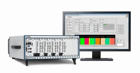 LabVIEWアドオンソフトウェア「WLAN Measurement Suite」のイメージ