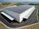 屋根には太陽電池パネル、発電容量1.8MWを確保する環境配慮型倉庫