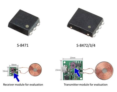 小型ワイヤレス給電制御IC「S-847x」シリーズ