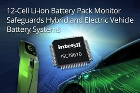 バッテリーモニター「ISL78610」