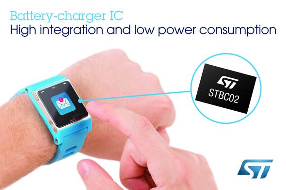 バッテリーチャージャーIC「STBC02」
