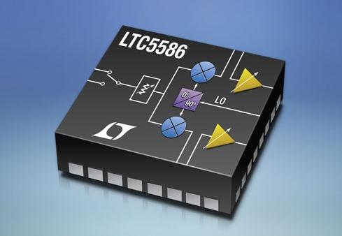 超広帯域6GHzダイレクトコンバージョンI/Q復調器「LTC5586」