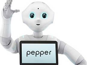 ソフトバンクロボティクスの人型ロボット「Pepper」(出典:ソフトバンクロボティクス)