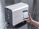 可搬型蓄電システムの新製品と蓄電池の設定変更などが可能なクラウドサービス