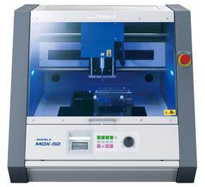 3次元切削加工機の新製品「MODELA MDX-50」