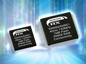 32ビットマイコン「RX65N/RX651グループ」