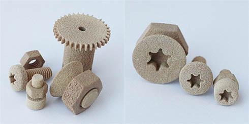 PPS素材を用いた造形サンプル