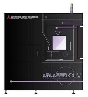微細レーザー加工機の新モデル「ABLASER-DUV」