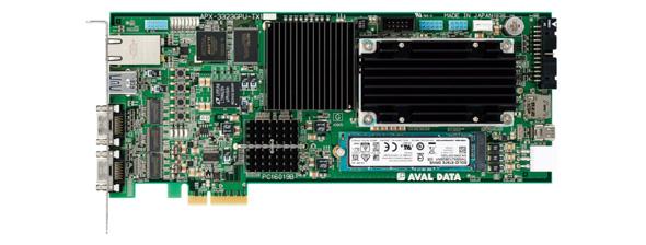 マシンビジョン向け画像入力ボード「APX-3323GPU」