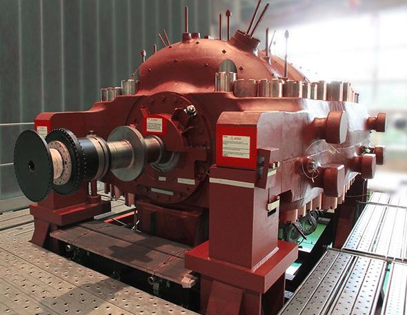「超臨界CO2サイクル火力発電システム」のパイロットプラント向けタービン