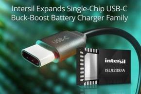 USB Type-C昇降圧バッテリーチャージャー「ISL9238」「ISL9238A」
