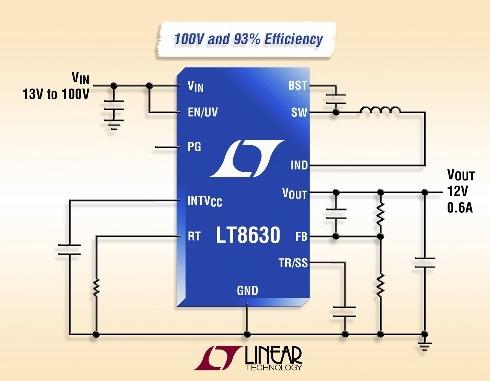 降圧スイッチングレギュレーター「LT8630」