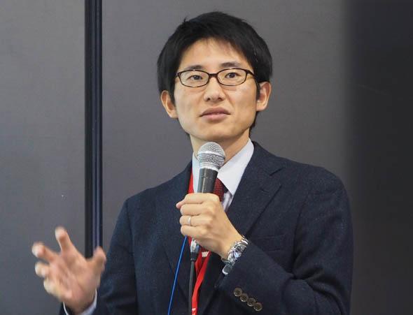 トレンドマイクロ プロダクトマーケティング本部 ソリューションマーケティンググループ プロダクトマーケティングマネージャーの上田勇貴氏
