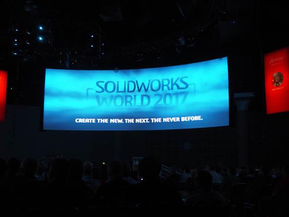 年次ユーザーイベント「SOLIDWORKS World 2017」のテーマ