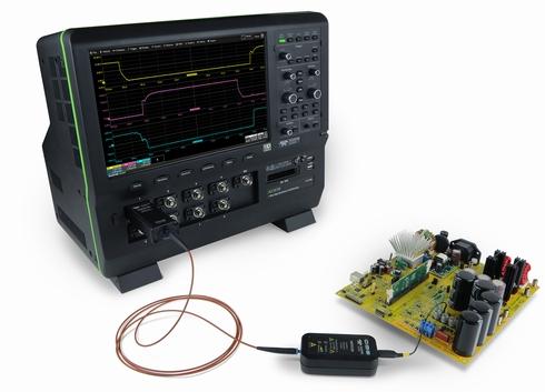 光絶縁プローブ「HVFO」の使用イメージ
