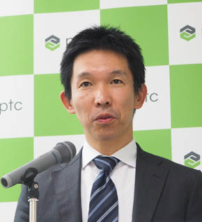 PTCジャパン 執行役員 専務の成田裕次氏