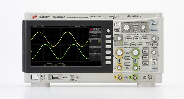 低価格オシロスコープ製品群「InfiniiVision 1000Xシリーズ」