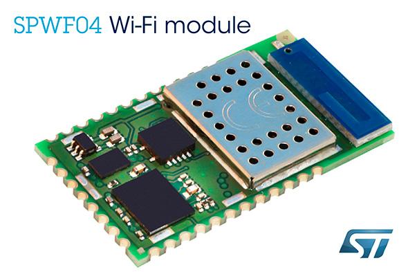 Wi-Fiモジュール「SPWF04」